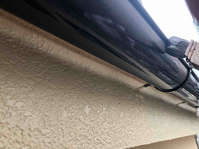 所沢市 西狭山ケ丘 付帯部塗装 雨樋塗装