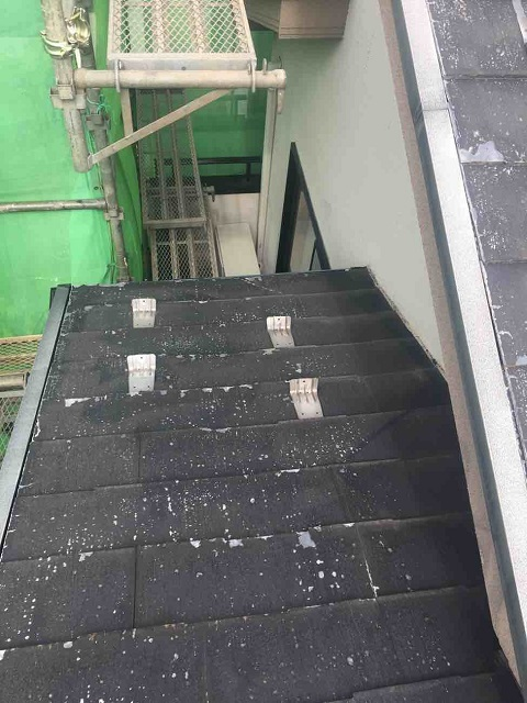 東京都 東村山市 屋根カバー工事 施工前