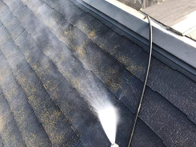 入間市東藤沢 屋根カバー 外壁塗装工事 屋根洗浄