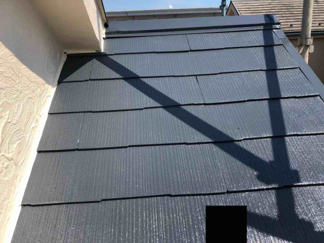 所沢市 東所沢 屋根塗装 下屋根  (2)