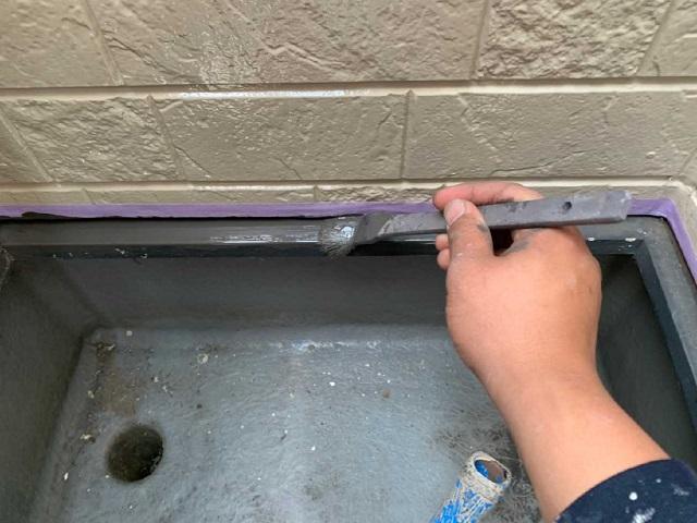 所沢市和ケ原 屋根カバー、天窓撤去、外壁塗装工事 ベランダ防水工事 水切り塗装