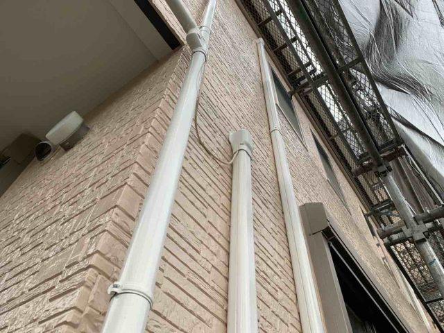 入間市 屋根、外壁塗装工事 エアコンカバー取付 (1)