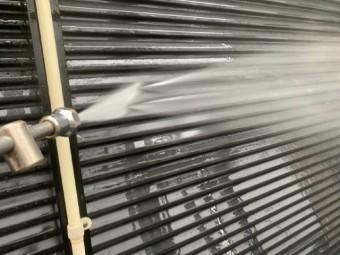 狭山市広瀬台 屋根・外壁塗装 高圧洗浄作業 (3)