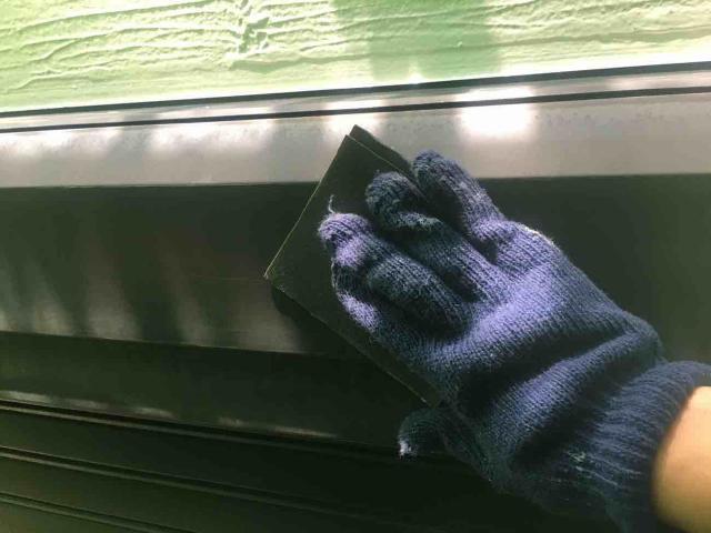 変換 ~ 飯能市 屋根カバー工事 外壁塗装工事 付帯部塗装 (4)