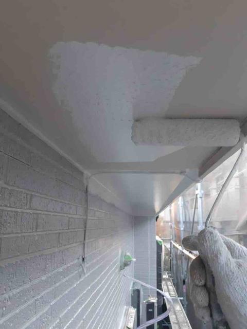 変換 ~ 入間市 屋根カバー 外壁塗装工事 付帯部塗装工事 (2)