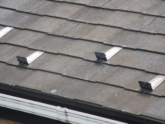 入間市 屋根・外壁塗装 現地調査 スレート屋根の劣化