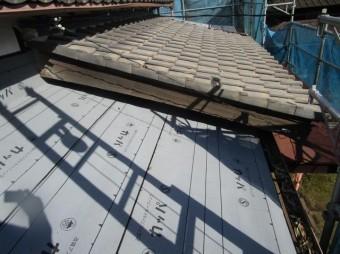 入間市 屋根葺き替え 下葺き 防水