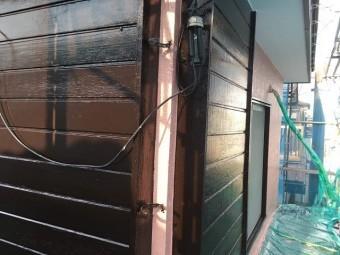 狭山市笹井 屋根カバー、葺き替え工事 戸袋塗装3