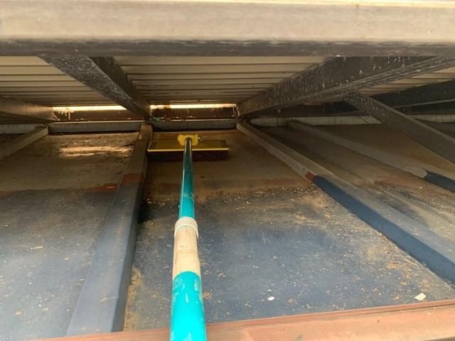 東京都東大和市 屋根葺き替え、外壁塗装工事 下屋根塗装工事1
