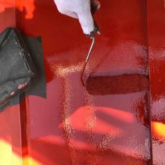 所沢市北中 下屋根塗装
