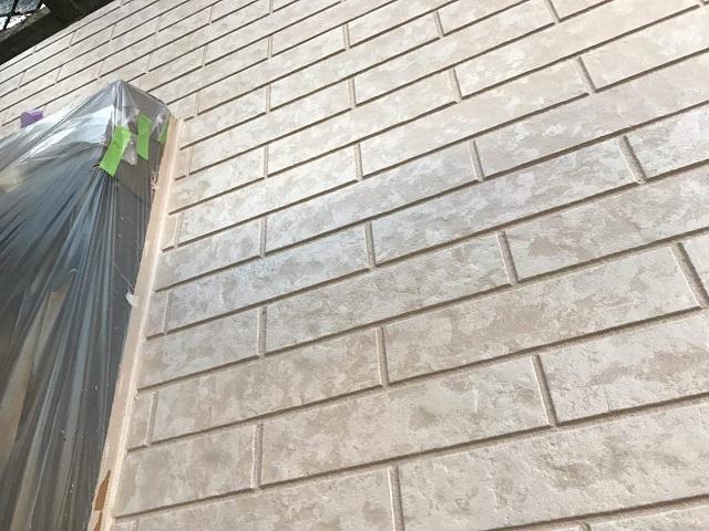 狭山市広瀬 屋根・外壁塗装 多彩模様塗装1