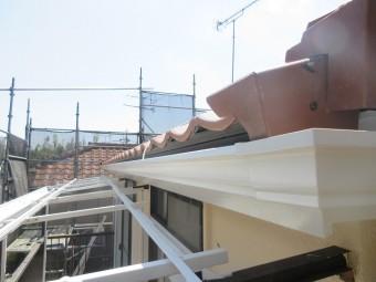 東京都東大和市 屋根葺き替え、外壁塗装工事 雨樋交換5
