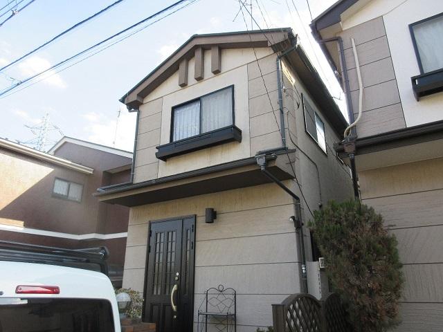 東京都 東村山市 屋根・外壁リフォーム 現地調査の様子