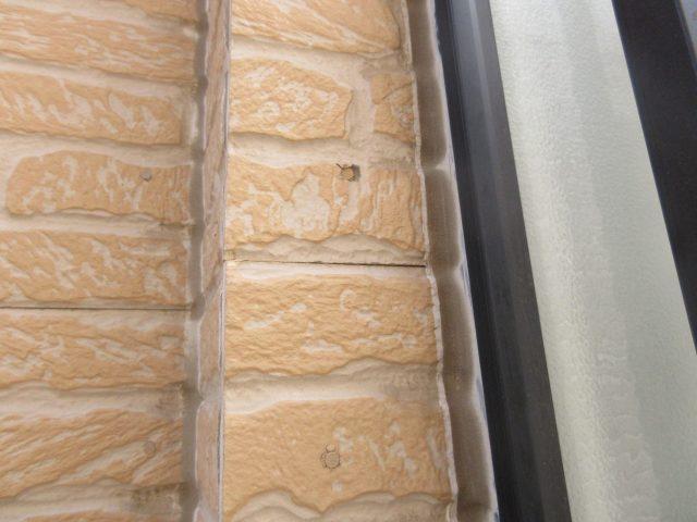 所沢市東所沢 屋根カバー、外壁塗装 外壁コーキングの劣化 (6)