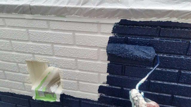 所沢市 北秋津 屋根リフォーム 外壁塗装 フッ素樹脂塗料施工 (5)