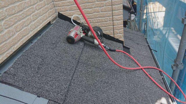 所沢市東所沢 屋根葺き替え、外壁塗装工事 セネター施工 (8)