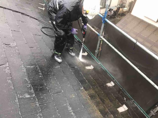 変換 ~ 入間市 屋根カバー 外壁塗装 高圧洗浄 (1)