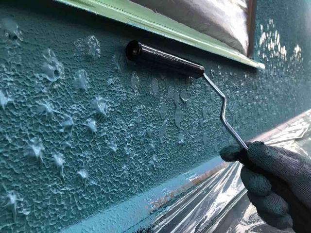 変換 ~ 飯能市 屋根カバー 外壁塗装 外壁中、上塗り (5)
