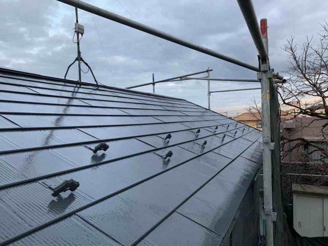 所沢市 上新井 屋根塗装 フッ素樹脂塗料 (13)