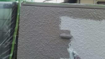 所沢市山口 外壁塗装 下塗り