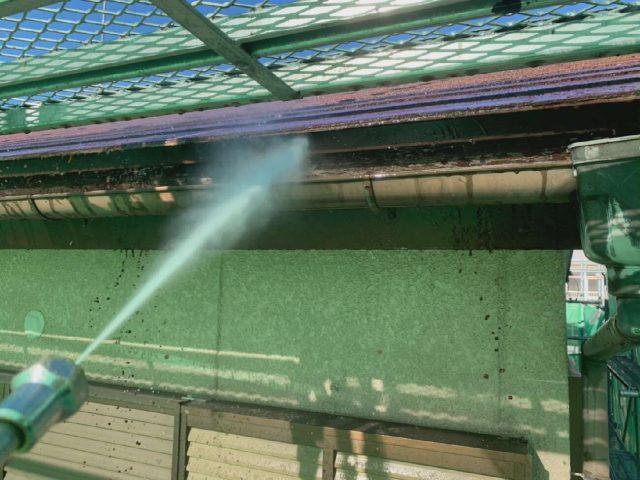 所沢市山口 屋根の高圧洗浄
