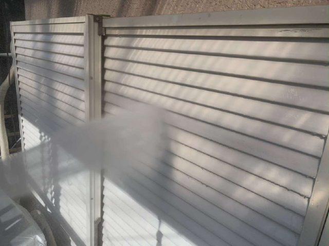 所沢市山口 バイオ高圧洗浄 雨戸