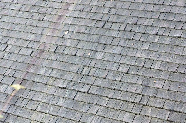コラム 屋根材 木製