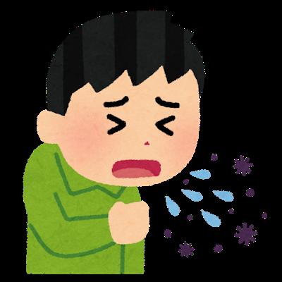 コラム 咳をする人
